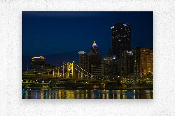 Roberto Clemente Bridge ap 2870  Metal print