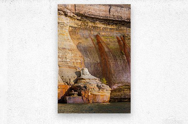 Pictured Rocks ap 2508  Metal print