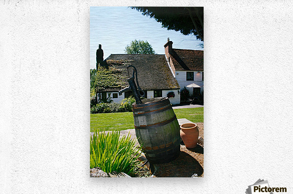 English countryside pub  Metal print
