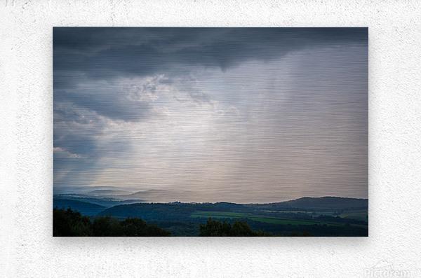 Moving Storm ap 2903  Metal print