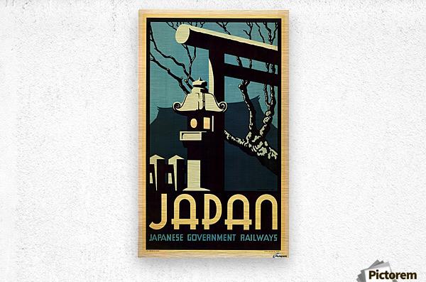 Japanese Government Railways  Metal print