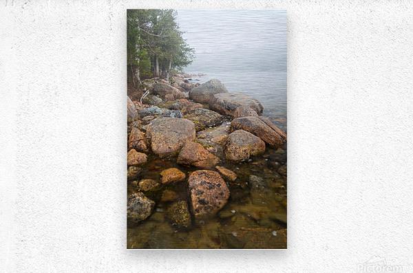 Boulders ap 2369  Metal print
