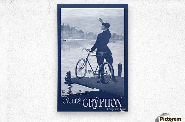 Cycles Gryphon  Metal print
