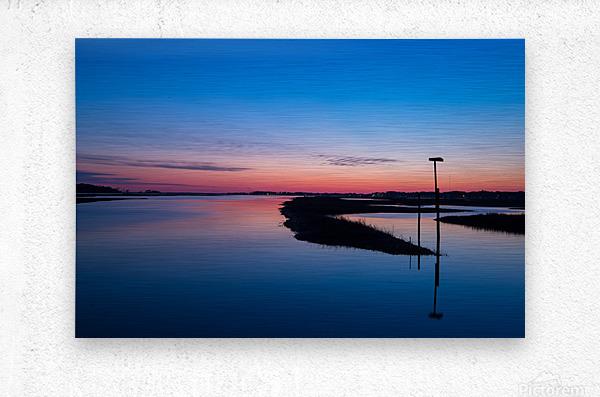 Sunset ap 2762  Metal print