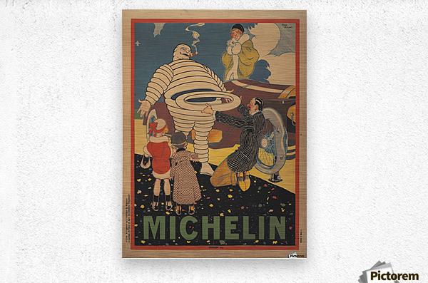 Michelin Pneu  Impression metal