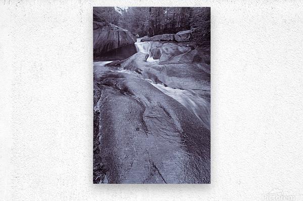 The Basin ap 2162 B&W  Metal print