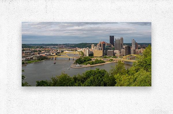 Pittsburgh apmi 1693  Metal print
