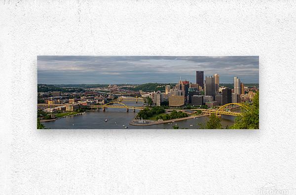 Pittsburgh apmi 1698  Metal print
