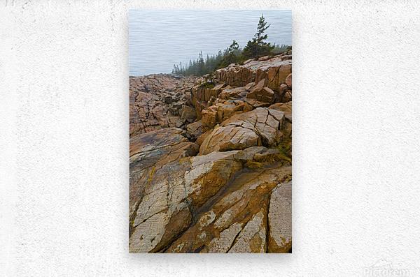 Granite Boulders ap 2270  Metal print