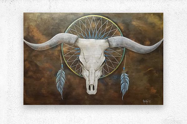 Sacred   Metal print