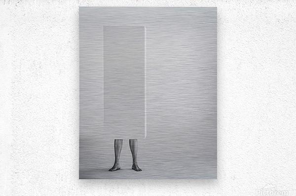 Life In A Box 3  Metal print