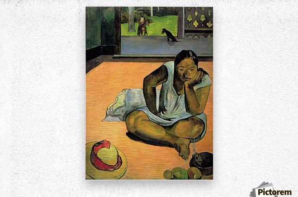 Te Faaturama by Gauguin  Metal print