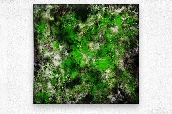 Green noise  Metal print