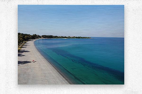Greece coast near Lefkada  Metal print