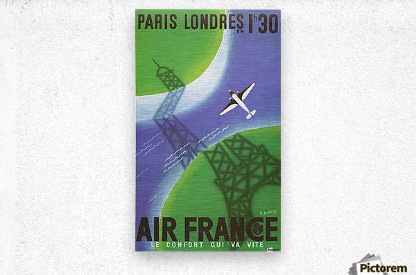 Paris Londer  Metal print
