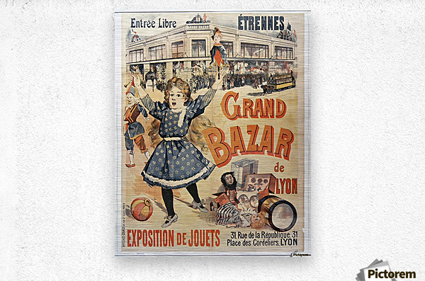 Grand Bazar  Metal print
