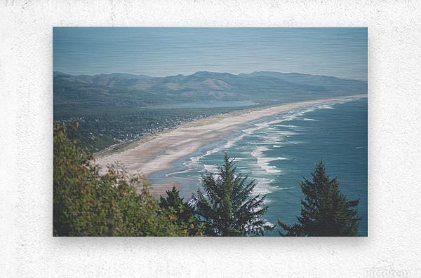 Neahkahnie Beach  Metal print