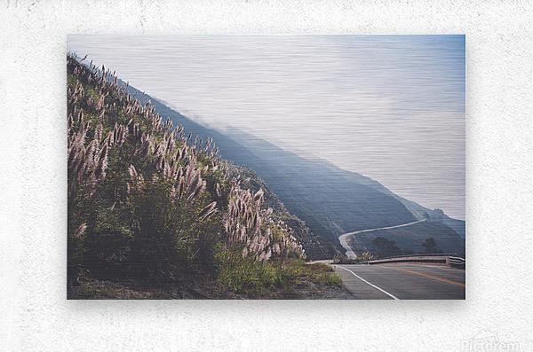 Pacific Coast Highway  Metal print