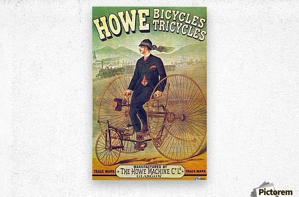 Howe Bicycles  Metal print