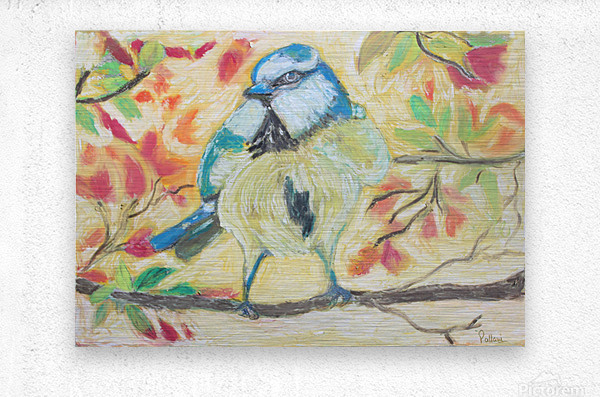 Angrybird  Metal print
