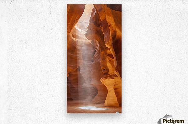 Beautiful Antelope Canyon Panoramic View  Metal print