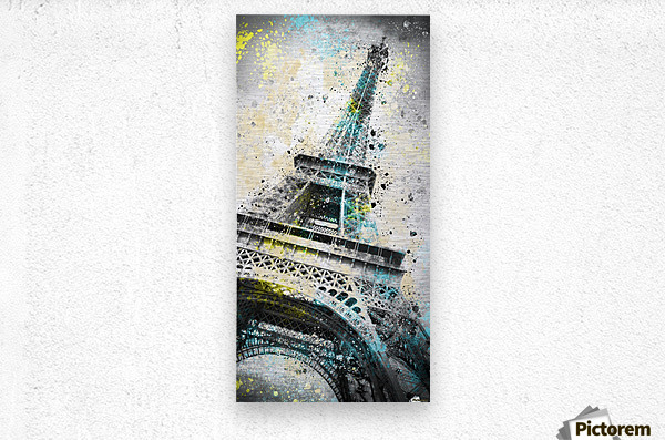 City-Art PARIS Eiffel Tower IV  Metal print