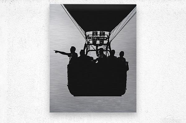 Basket Full Of Aeronauts  Metal print