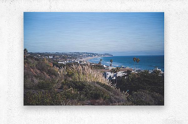 Malibu California  Metal print