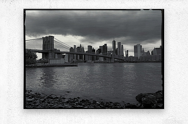 Gotham City   Metal print