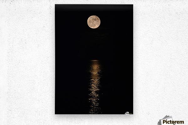 Holiday Magic - Lunar Art by Jordan Blackstone  Metal print