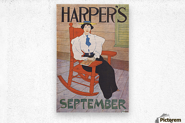 Harpers September  Metal print