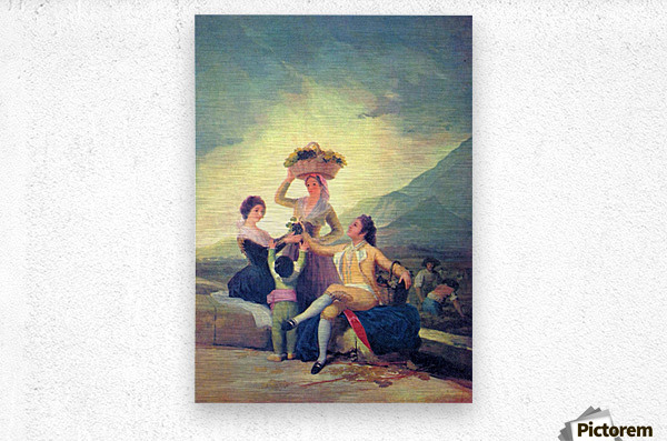The Vintage by Goya  Metal print