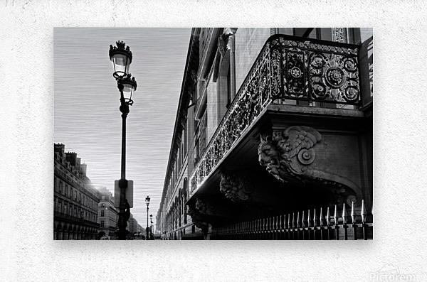 Rivoli balcony  Impression metal