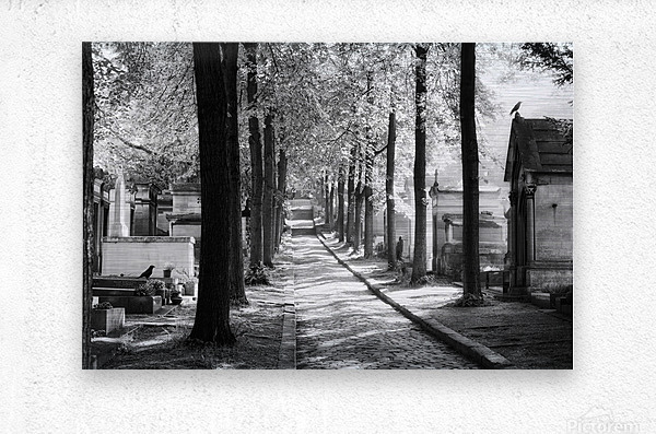 Pere-Lachaise keepers  Impression metal