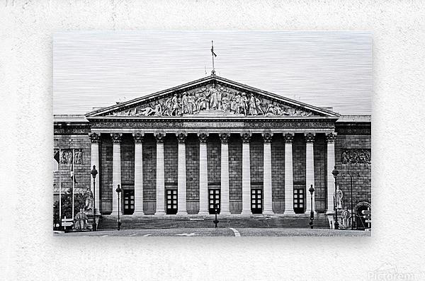 Bourbon palace  Impression metal