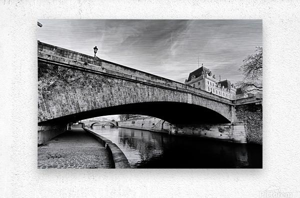 Petit pont   Impression metal