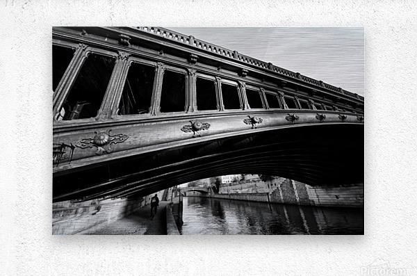 Pont au Double  Impression metal