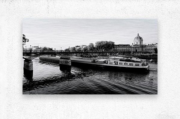 Under the Pont des Arts  Impression metal