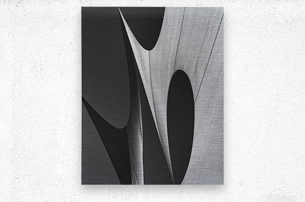 Abstract Sailcloth 11  Metal print
