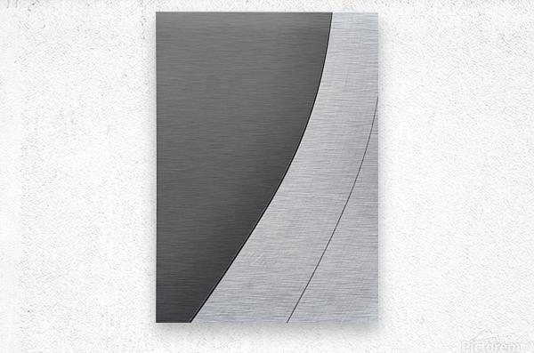 Abstract Sailcloth 7  Metal print