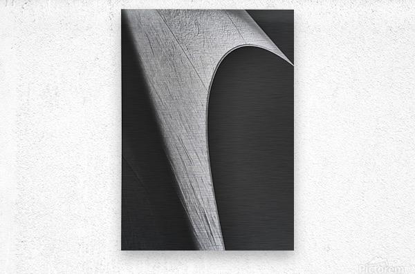 Abstract Sailcloth 12  Metal print