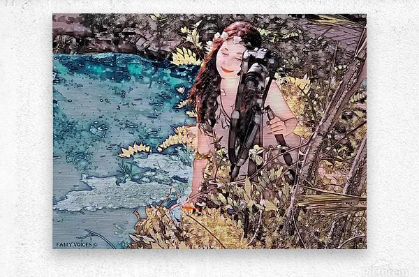 FAIRY AND THE LAKE - Art-Photo  2-4  Metal print