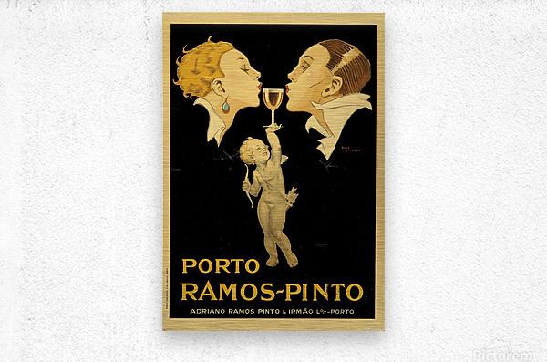Porto Ramos - Pinto Original Poster  Metal print