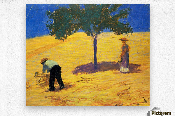 Tree in Cornfeld by Macke  Metal print