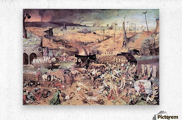 Triumph of Death by Pieter Bruegel  Metal print