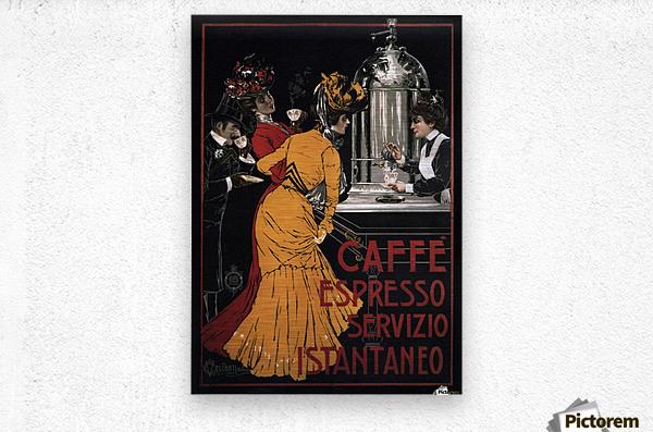 Caffe Espresso Servizio Istantaneo  Metal print