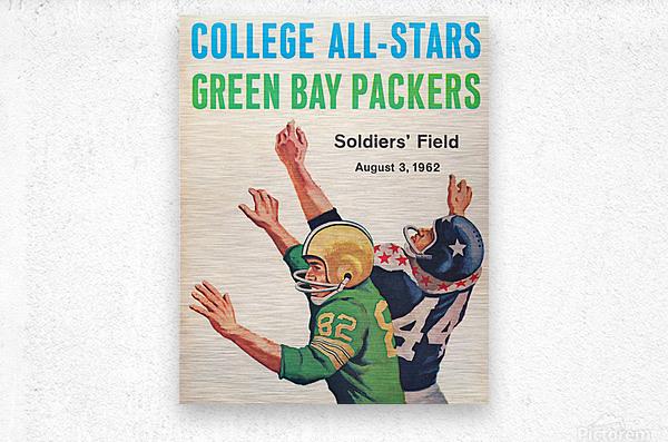 1962 Green Bay Packers vs. College All-Stars  Metal print