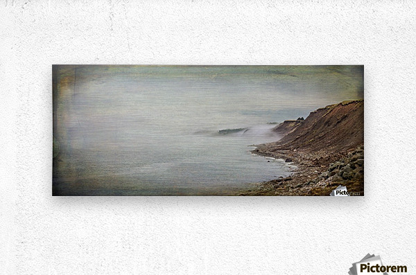 Fog in Grand Etang - Cape Breton  Metal print