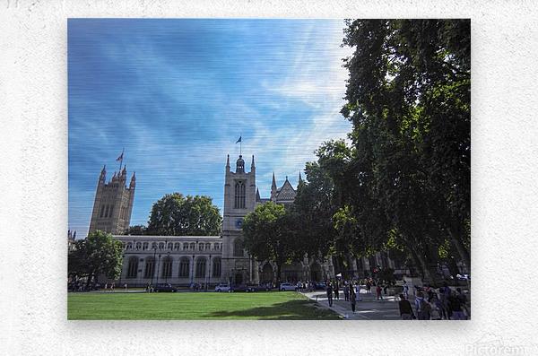 Snapshot in Time Quintessential London 5 of 5  Metal print