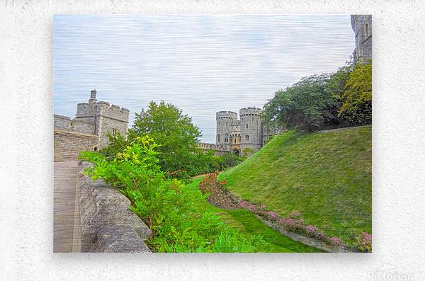 Windsor Castle 2 - Berkshire United Kingdom  Metal print